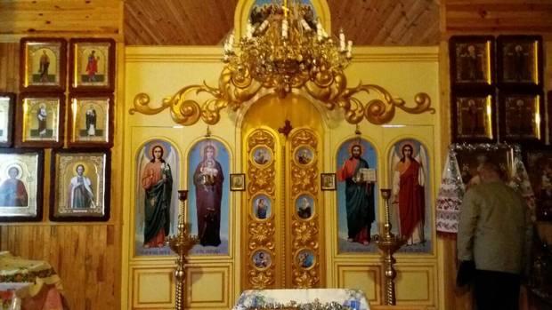 В храмі Святого Миколи Чудотворця в с. Мала Зубівщина