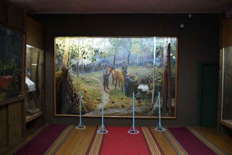 Діарама Музею «Перед Карпатським походом»