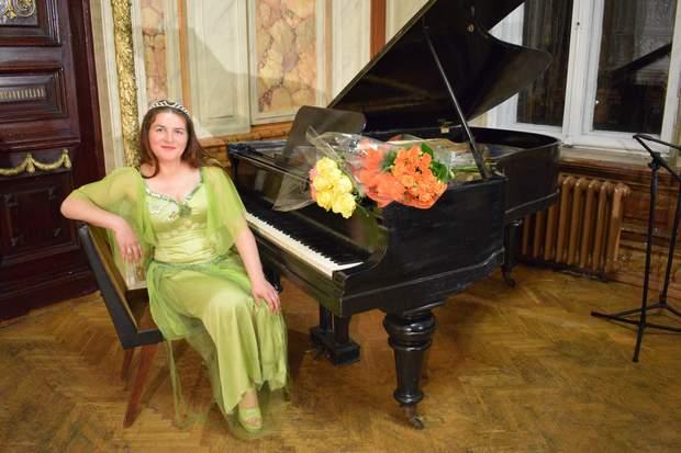 Творчий вечір Олесі Сінчук Зорі на квітах
