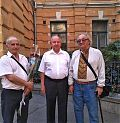 Віктор Михайлович Барановський, Йосип Антонович Запаловський та Валерій Олександрович Шевчук
