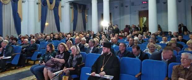У актовій залі Національного педагогічного університету імені М. П. Драгоманова