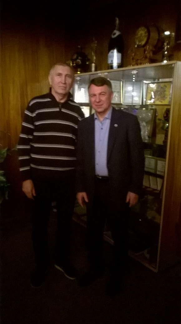 Василь Скорженко та Олександр Слободян
