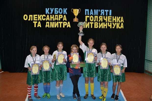 Переможці з нагородами