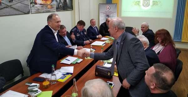 """Засідання Президії та Ради МГО """"Земляцтво житомирян"""" 24 грудня 2019 року"""