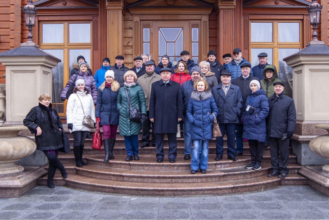Керівники земляцьких організацій України на екскурсії 15 лютого 2020 року