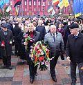 Земляцькі організації прямують до пам'ятника Т. Шевченку