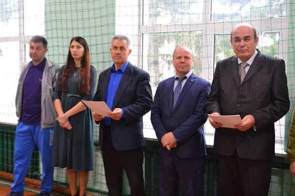 Почесні гості Черняхівського спортивного ліцею