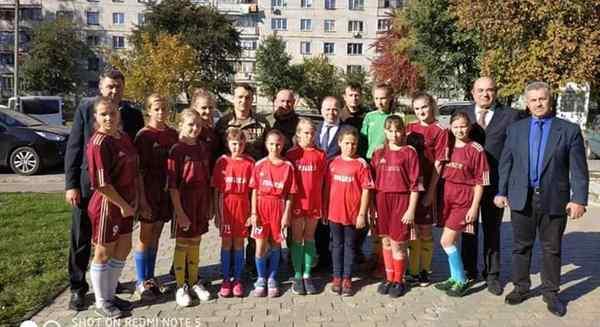 Команда переможець з міні футболу