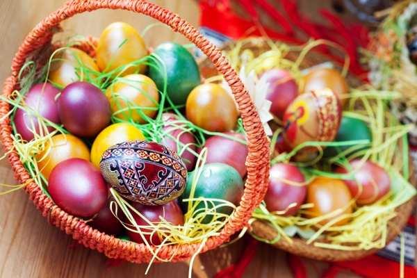 Пасхальні дарунки в знак свята Воскресіння Христового