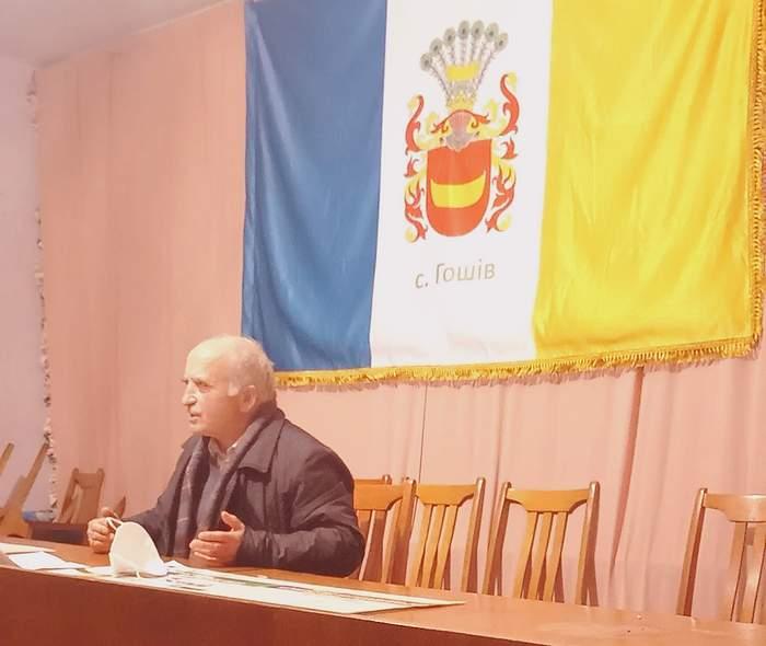 У селі Гошів Овруцького району Житомирської області 15 грудня 2020 року