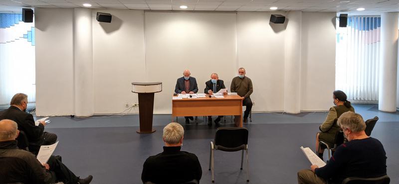 Засідання Асоціації земляцтв4 лютого 2021 року