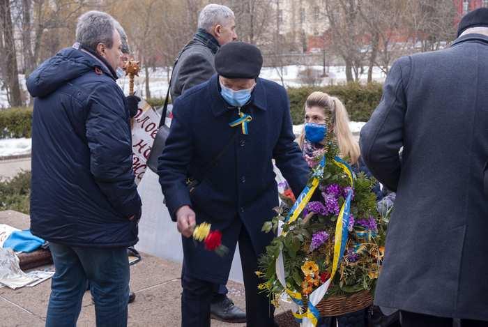 Вшанування пам'яті Тараса Шевченка з нагоди 207 річниці з дня народження
