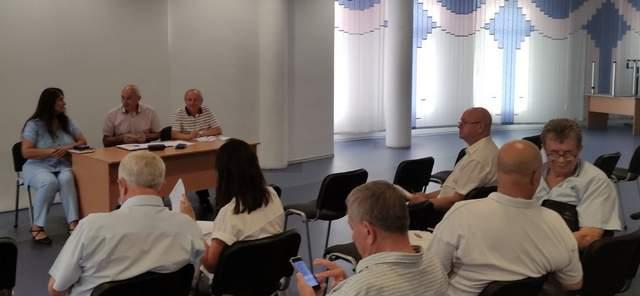 Учасники Загальних Зборів Асоціації земляцьких організацій 4.08.2021 р.