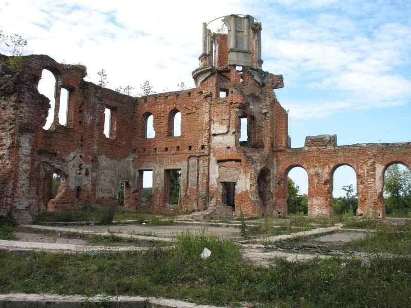 Фундамент дає уяву про планування кімнат палацу зсередини.