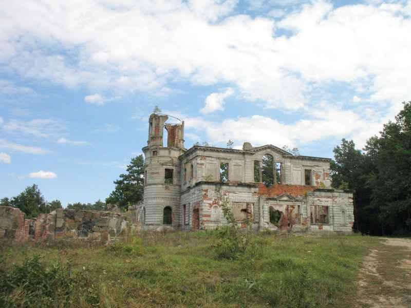 Дорога, що веде до палацу, поки що є вільною для інвесторів - істиних цінителів української романтичної старовини