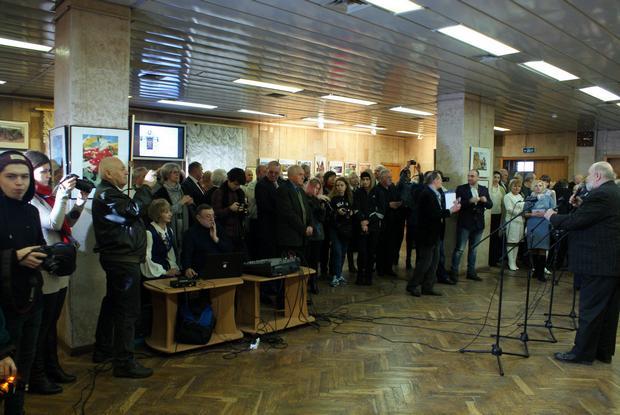 Відкриття виставки «Міста трьох тисячоліть: Коростень, Овруч, Олевськ»