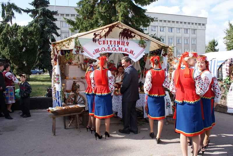 Світлиця села Шоломки
