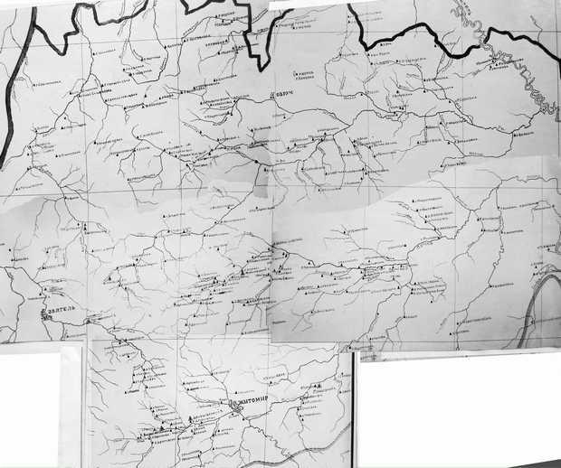 Карта рудень