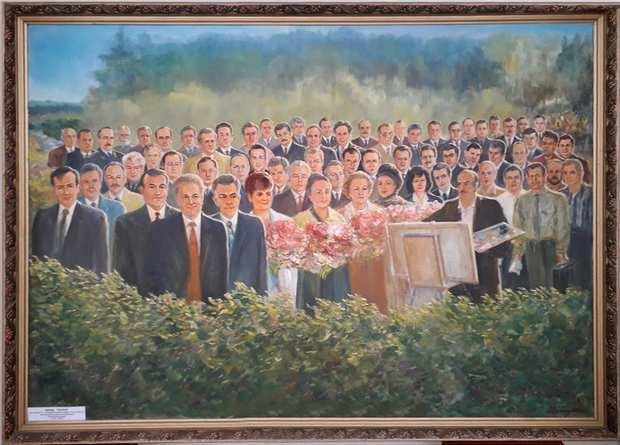 Картина Зустріч земляків