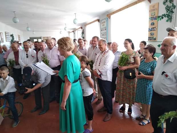 Театралізована вистава до відкриття музею Одного класу