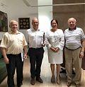 Керівники земляцтва на зустрічі із громадською діячкою Левковською Ганною Вікторівною