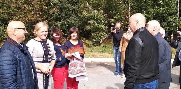 Зустріч на кордоні Вінницької та Хмельницької областей