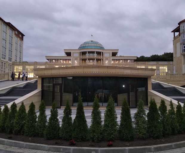 Найбільший в Україні сучасний санаторій
