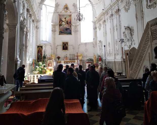 Домініканський костел або монастир домініканців