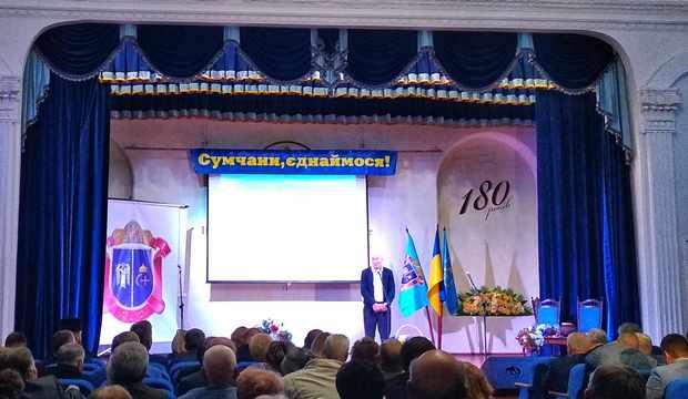 Поздоровлення голови асоціації земляцьких організацій Віктора Вікторовича Ткаченка
