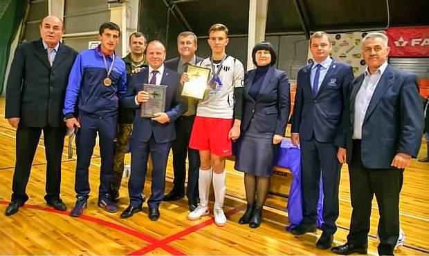 Обласний турнір на Кубок Міністра оборони України, вручення нагород